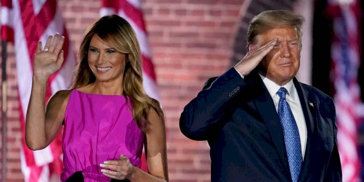 """Antes fue a Piñera, ahora a Trump: """"coronavirus"""" las emprendió contra Melania y la Casa Blanca"""