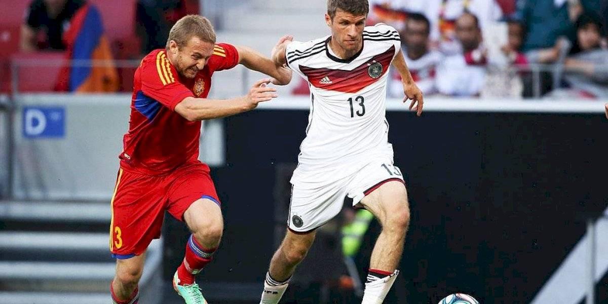 Capitán de la selección de Armenia deja el fútbol para alistarse al ejército