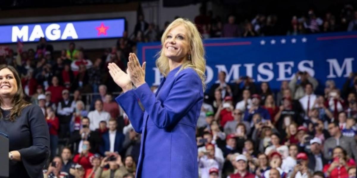 KellyAnn Conway, consejera de Trump también da positivo a COVID-19