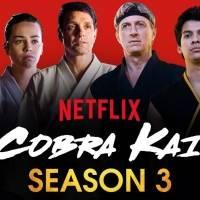 Tercera temporada de Cobra Kai estrena en Año Nuevo
