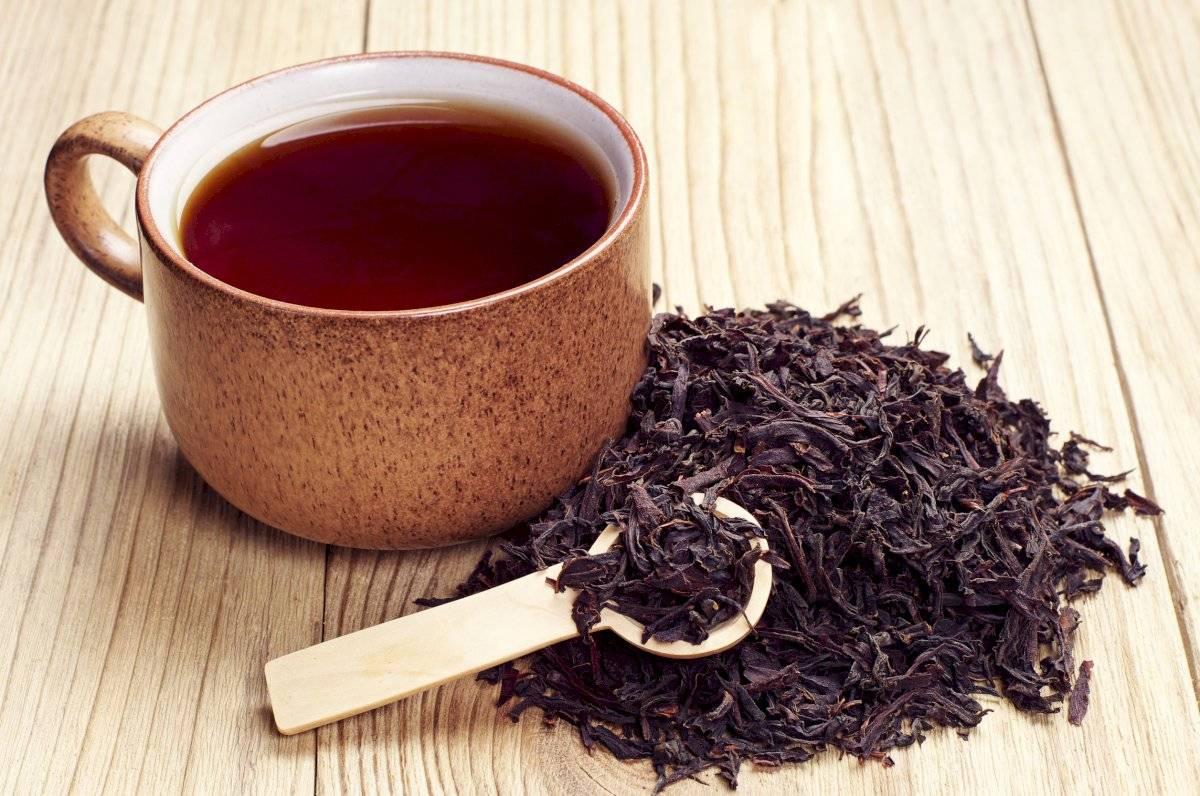 Salvia y té negro