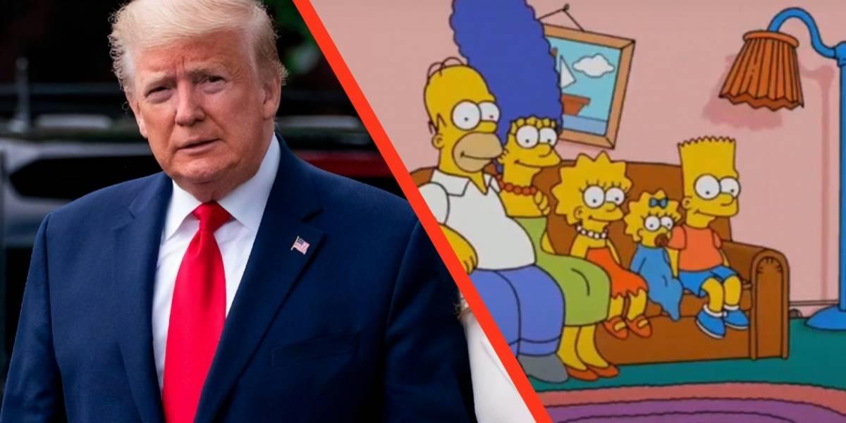 ¿Los Simpson predijeron que Donald Trump morirá en 2020?