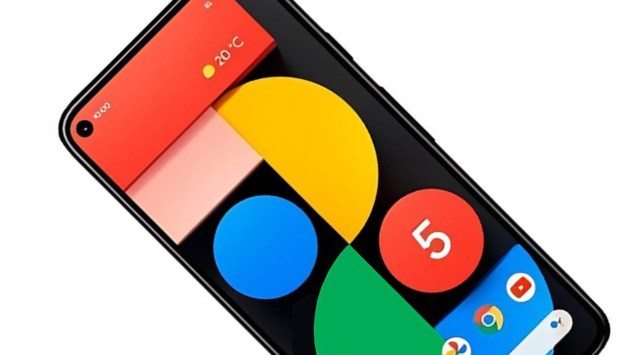 Pixel 5 Google fotografias