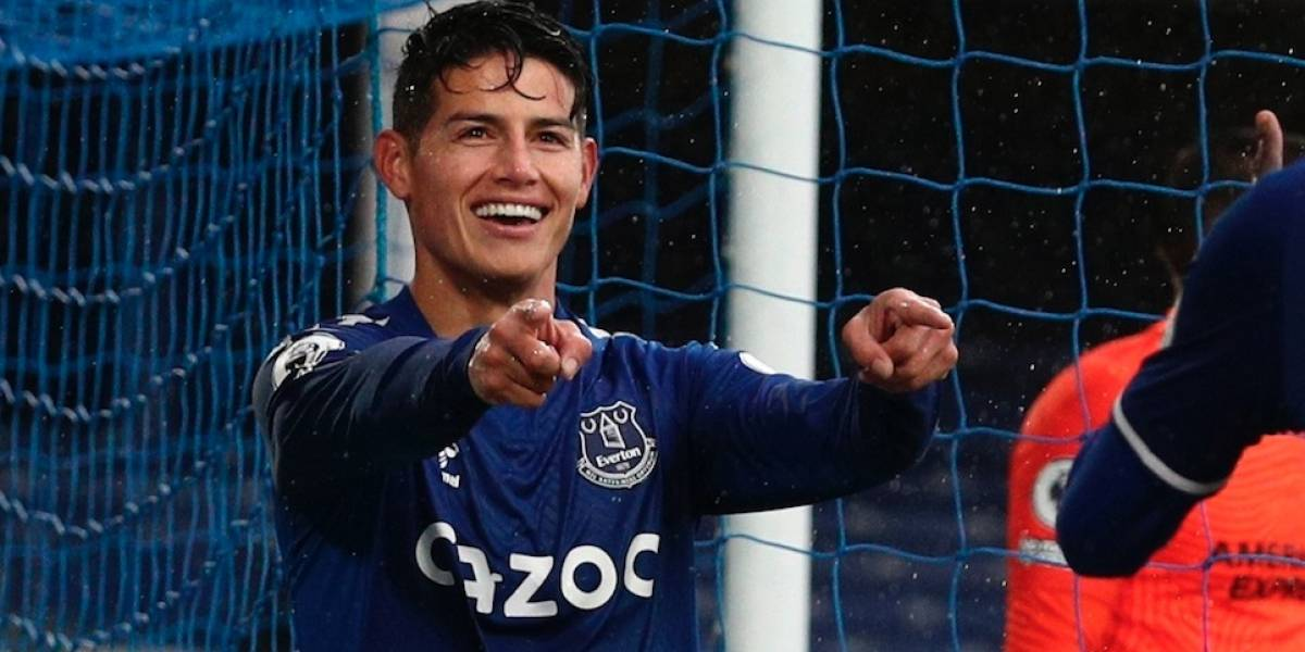 Video Hinchas Eligen A James Rodriguez Como Figura De Everton Vs Brighton Por Fecha 4 De Premier League 2020 21 Jugadores Colombianos Exterior Yerry Mina Goles Y Asistencia James Hoy