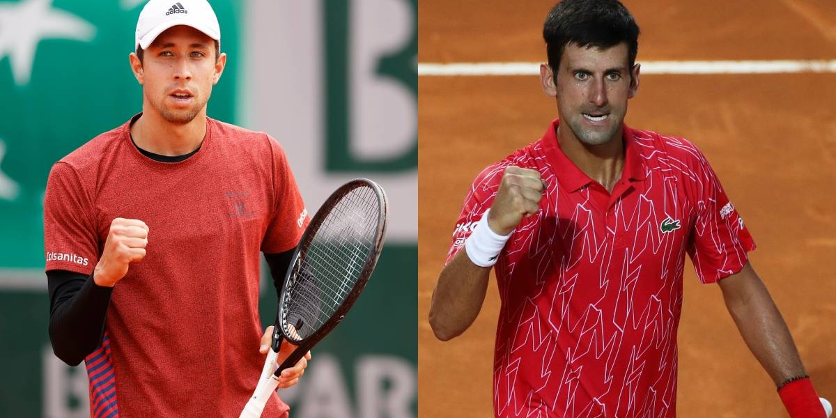 Novak Djokovic vs. Daniel Galán   EN VIVO ONLINE GRATIS Link y dónde ver en TV Roland Garros: hora, canal y streaming