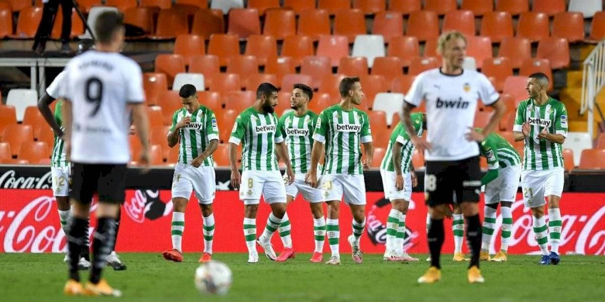 España: el Betis de Pellegrini se recupera con victoria sobre Valencia y es el puntero