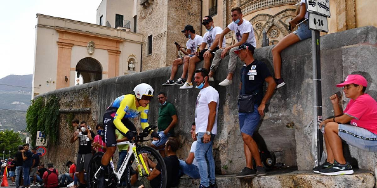 Giro de Italia: así les fue a los ecuatorianos en la primera etapa