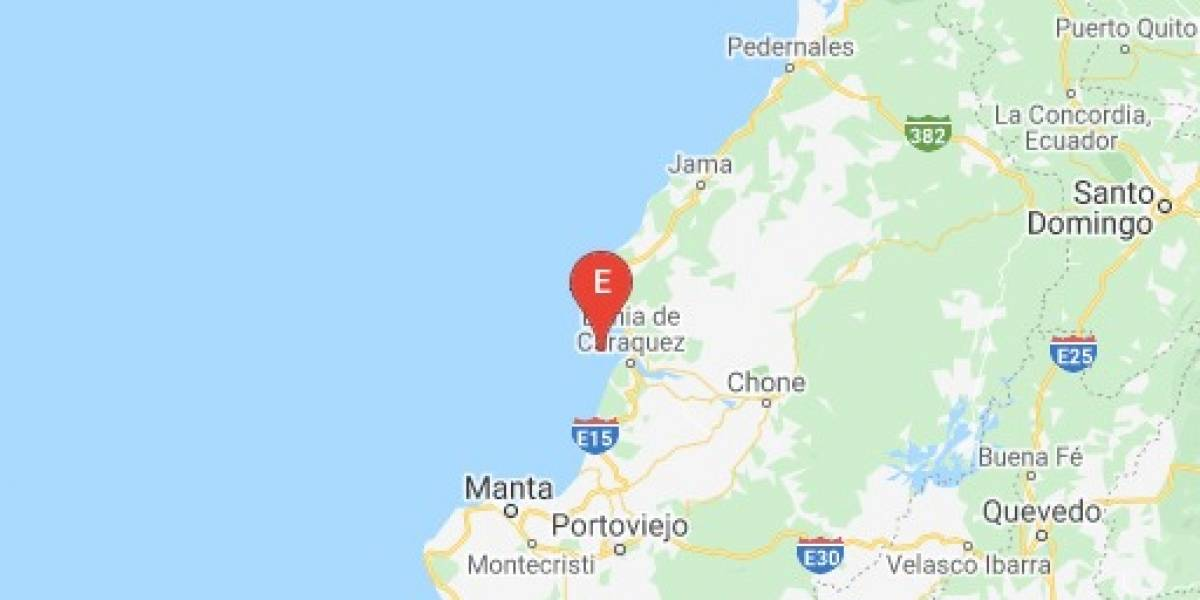 Nuevo sismo sacude a Ecuador: se registró este sábado en Manabí