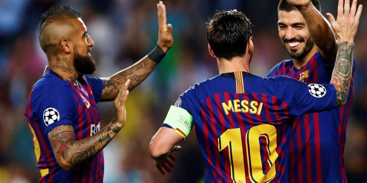 Se lo perdió Vidal: Lionel Messi traerá al uruguayo Luis Súarez en su avión privado para jugar contra Chile