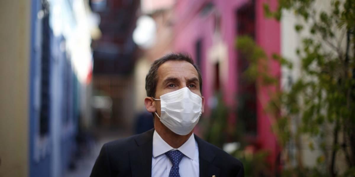 """Alessandri pide """"pacto contra la violencia"""" y se lanza contra Teillier: """"No ha entendido nada"""""""