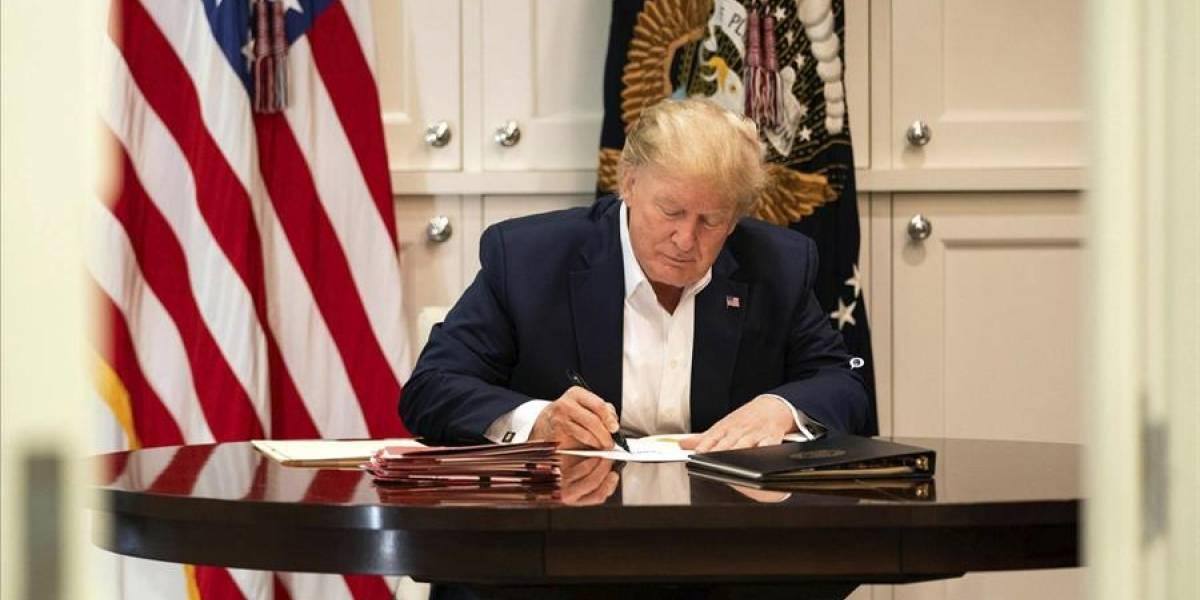 Donald Trump rompe el silencio tras días de conocerse que se contagió de COVID