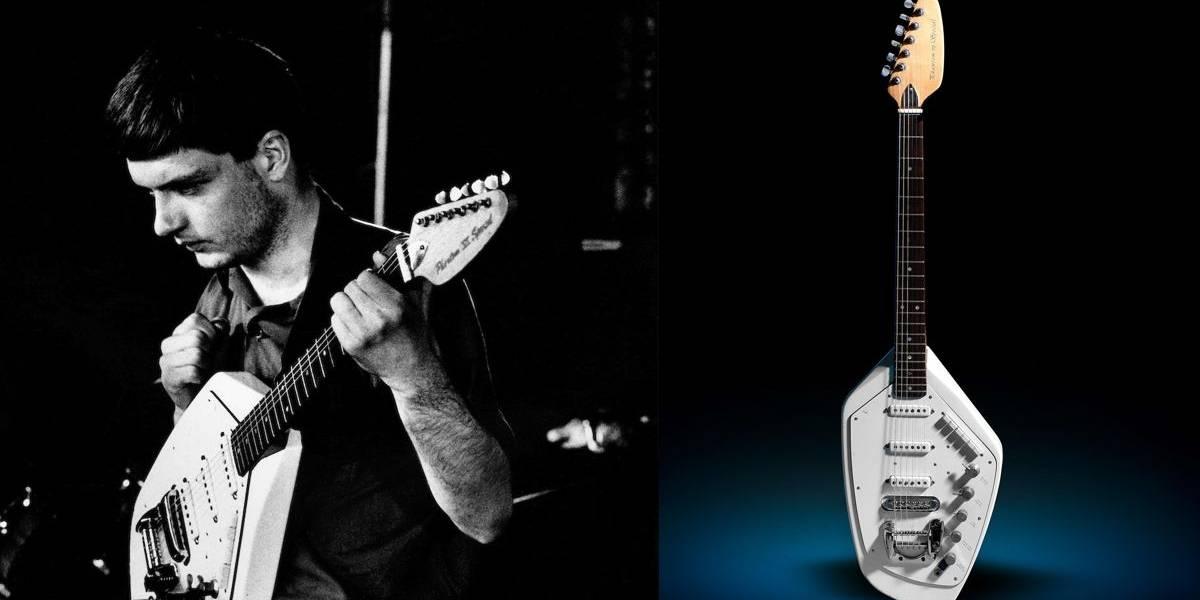 Guitarra de Ian Curtis, do Joy Division, será leiloada