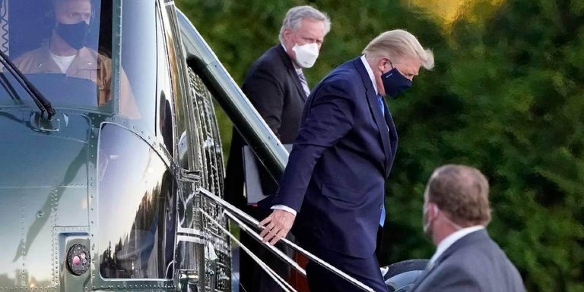 """Pese a """"optimismo cauteloso"""" del médico de Donald Trump, el coronavirus sigue rondando la Casa Blanca"""