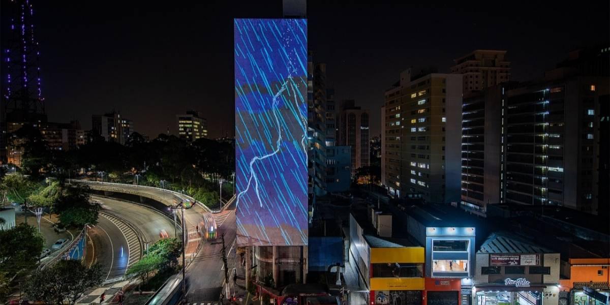 Festival de Luzes projeta artes digitais em edifícios e monumentos de São Paulo