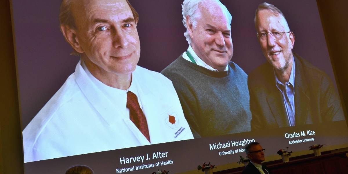 El Premio Nobel de Medicina se lo llevan tres científicos que descubrieron la Hepatitis C