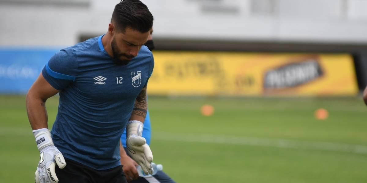Gustavo Alfaro anunció a Hernán Galíndez como reemplazo del portero Johan Padilla