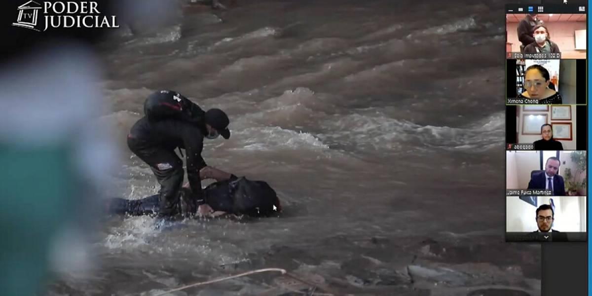 """Fiscalía ampliará investigación contra más carabineros por """"encubrir"""" caso de joven empujado al río Mapocho"""