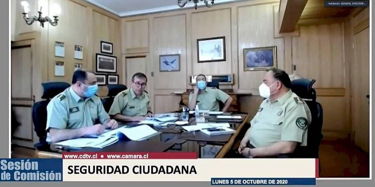 """General Mario Rozas aseguró en la Cámara que no va a renunciar por tener """"un mandato presidencial"""""""