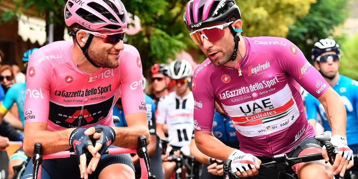 Giro d'Italia: ¿Por qué los ciclistas no usan mascarillas durante la carrera?