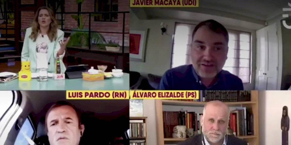 Fuerte round entre Monserrat Álvarez y diputado Macaya por imagen de Carabineros