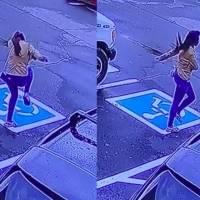 Joven baila de felicidad en el estacionamiento tras conseguir empleo luego de vivir en la calle