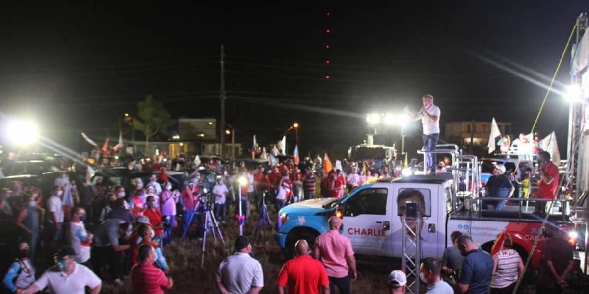 En el olvido la prohibición a las caravanas políticas