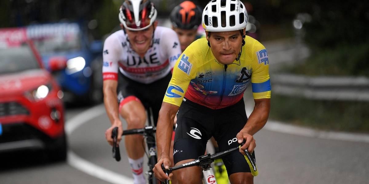 Jonathan Caicedo gana la tercera etapa del Giro de Italia