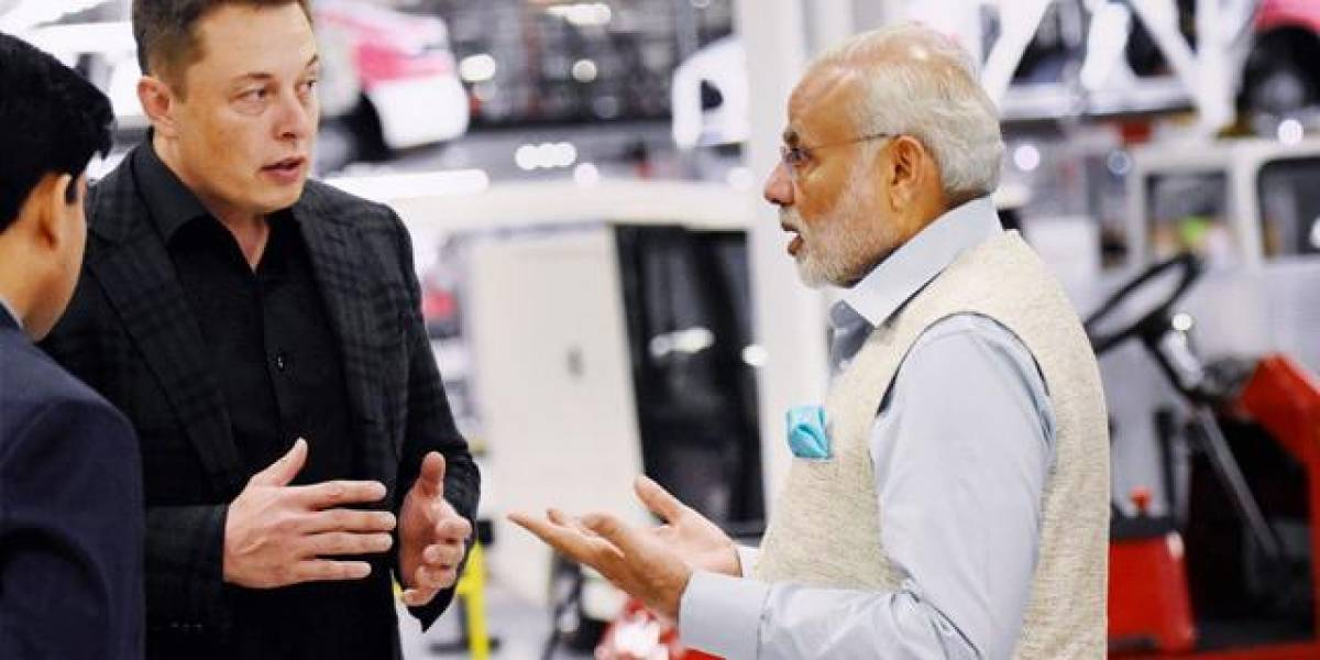 Elon Musk: Tesla fabricará autos eléctricos para la India