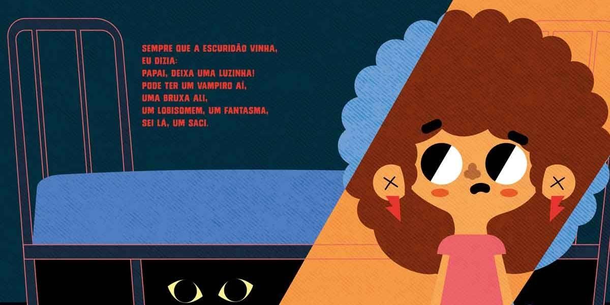 De maneira sensível, Emicida fala de temas como medo e coragem em segundo livro infantil