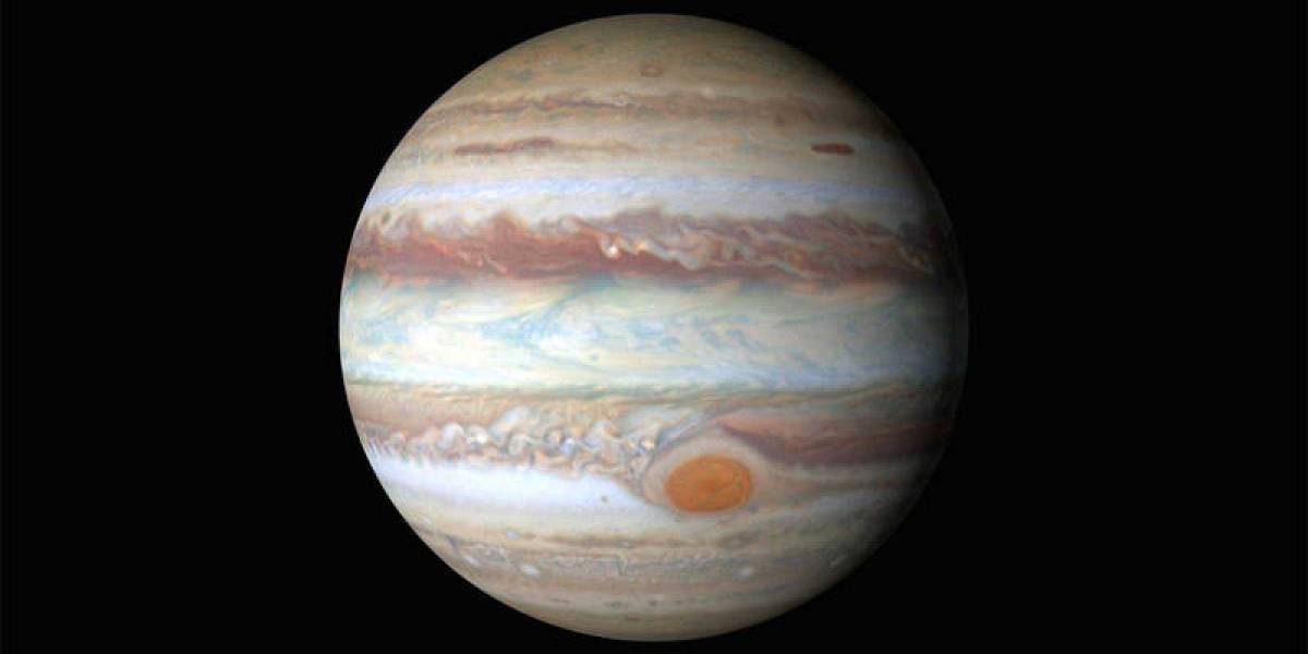Espacio: cinco cosas que sólo pasan en Júpiter