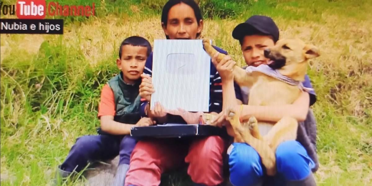 Envenenaron a 'Lunita', mascota de los youtubers campesinos 'Nubia e hijos'