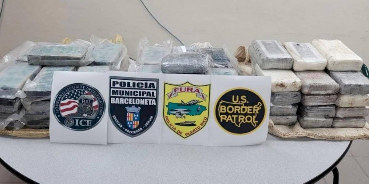 Incautan 77 kilos de cocaína en las costas de Barceloneta