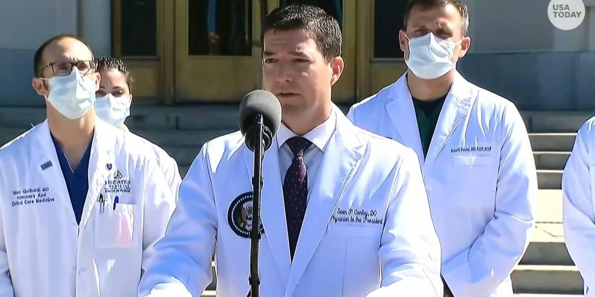 Sean Conley, el controvertido médico osteópata que recetó hidroxicloroquina a Trump
