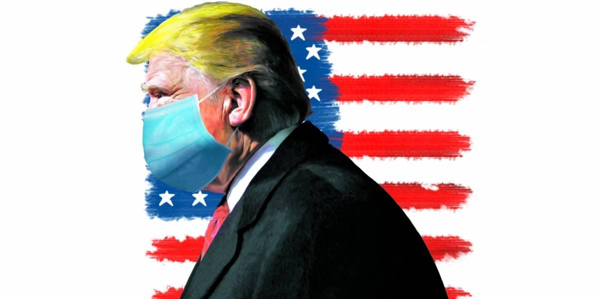 Donald Trump: o magnata cético e agora contaminado pelo coronavírus