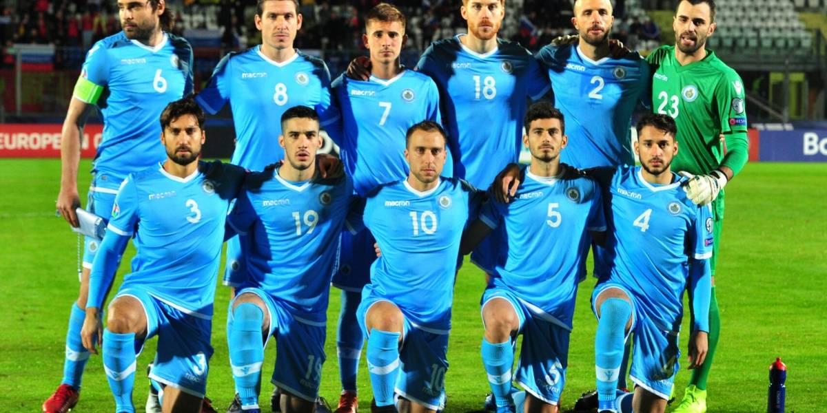 San Marino, la peor selección del mundo, segun FIFA