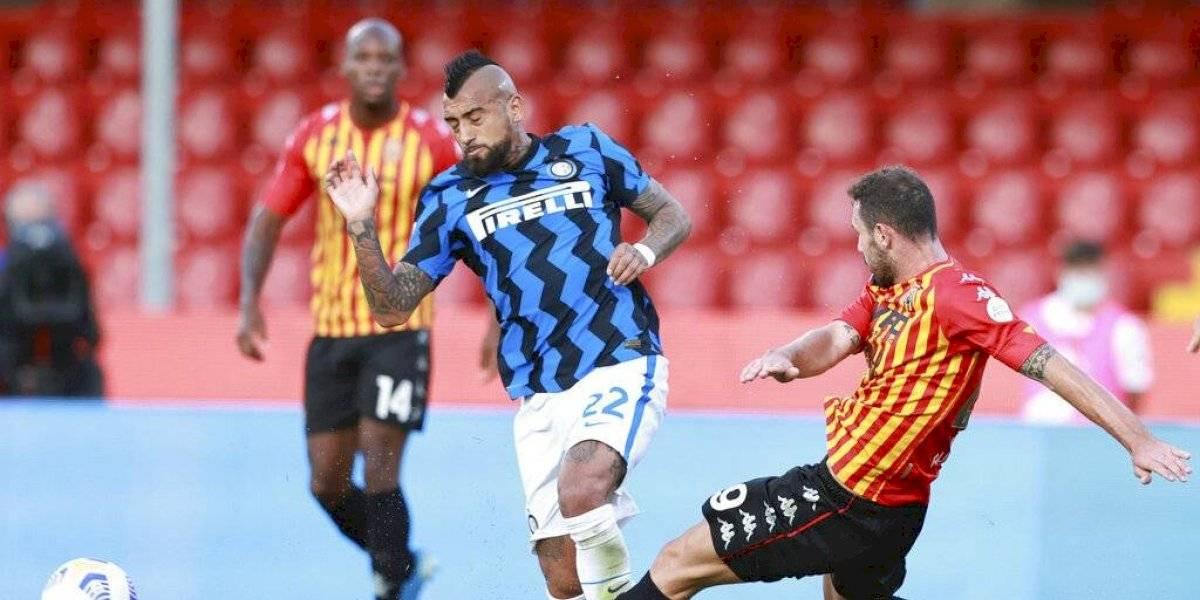 """""""Vidal es insustituible"""": diario italiano destaca al volante chileno tras sus primeros partidos en el Inter"""