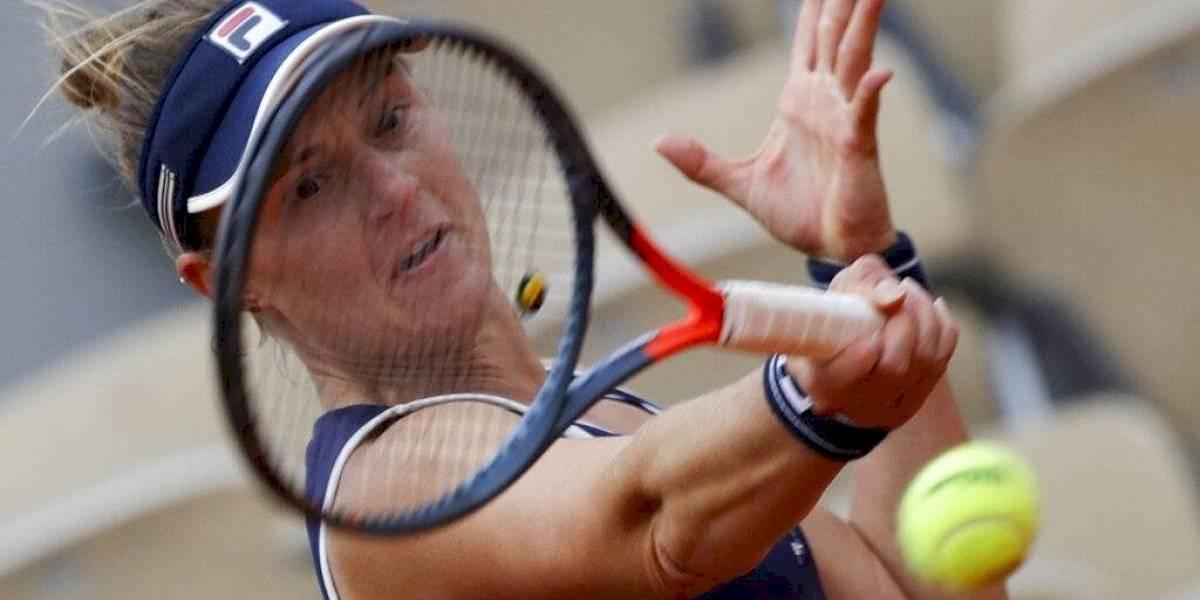Nadia Podoroska sorprende a Svitolina y avanza a semis en Francia