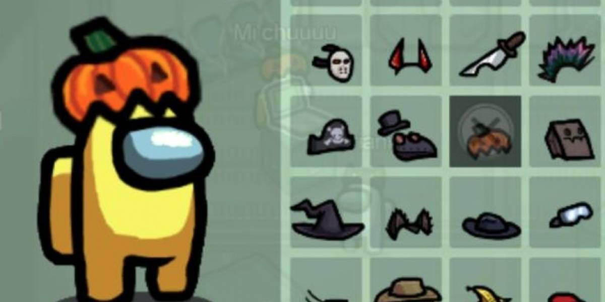 Así de fácil puedes tener los sombreros de Halloween en Among Us