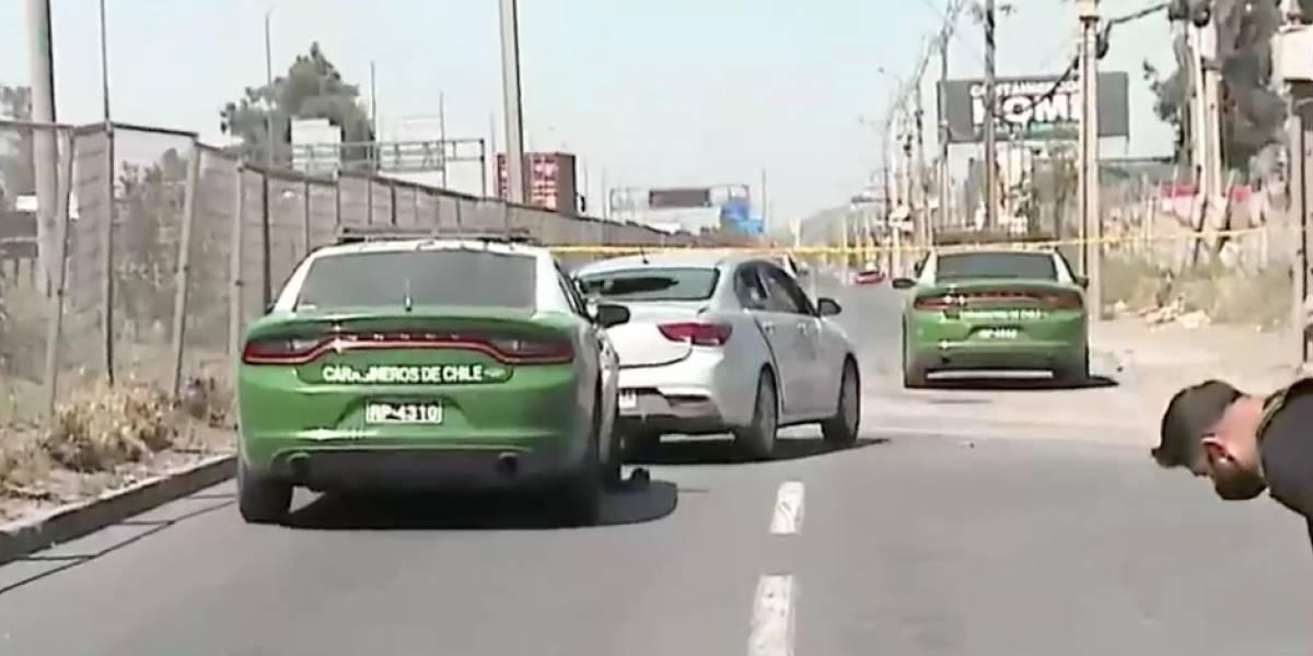 De película: persecución y tiroteo tras robo termina con delincuente muerto en San Bernardo