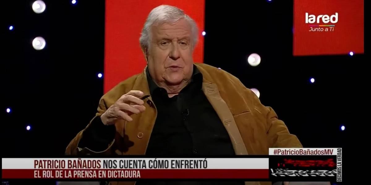 """El triste recuerdo de Patricio Bañados a 32 años del triunfo del No: """"Esa noche no me llamaron, ni al día siguiente, ni a la semana, ni nunca más"""""""