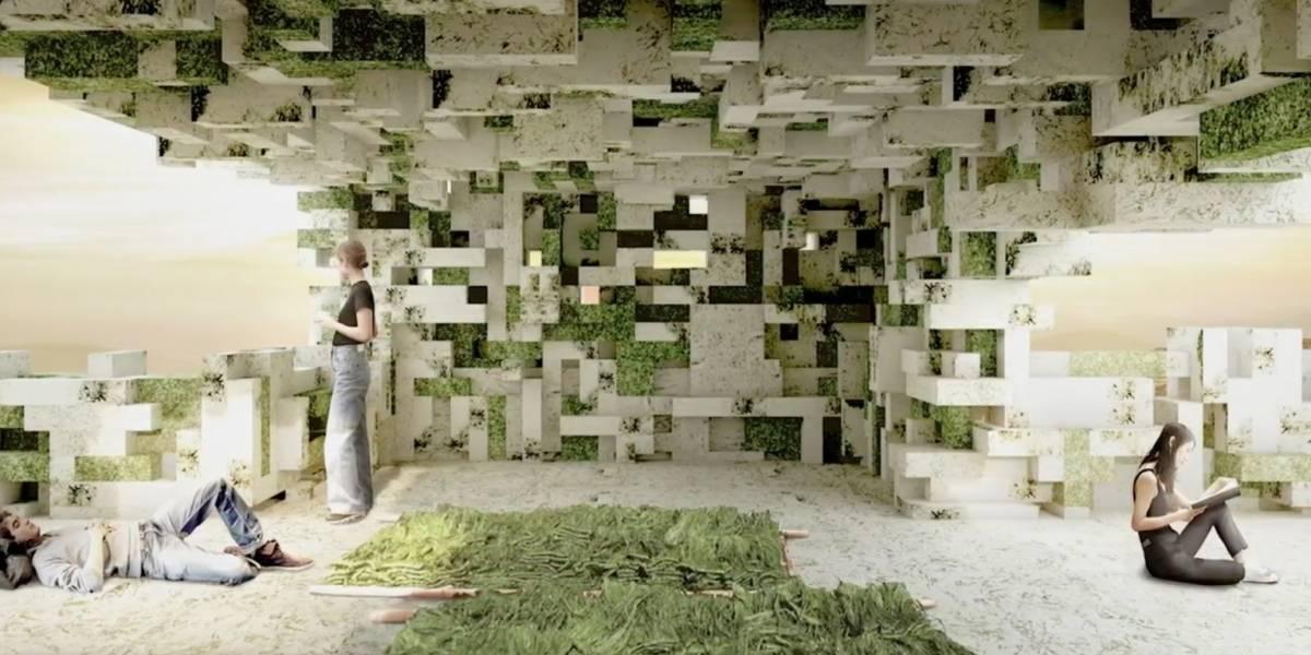 Estudiantes diseñan una eco-aldea a base de algas...
