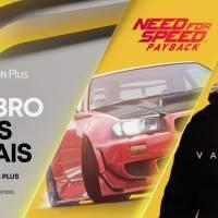 Need for Speed: Payback e Vampyr são os jogos gratuitos para membros PS Plus de outubro