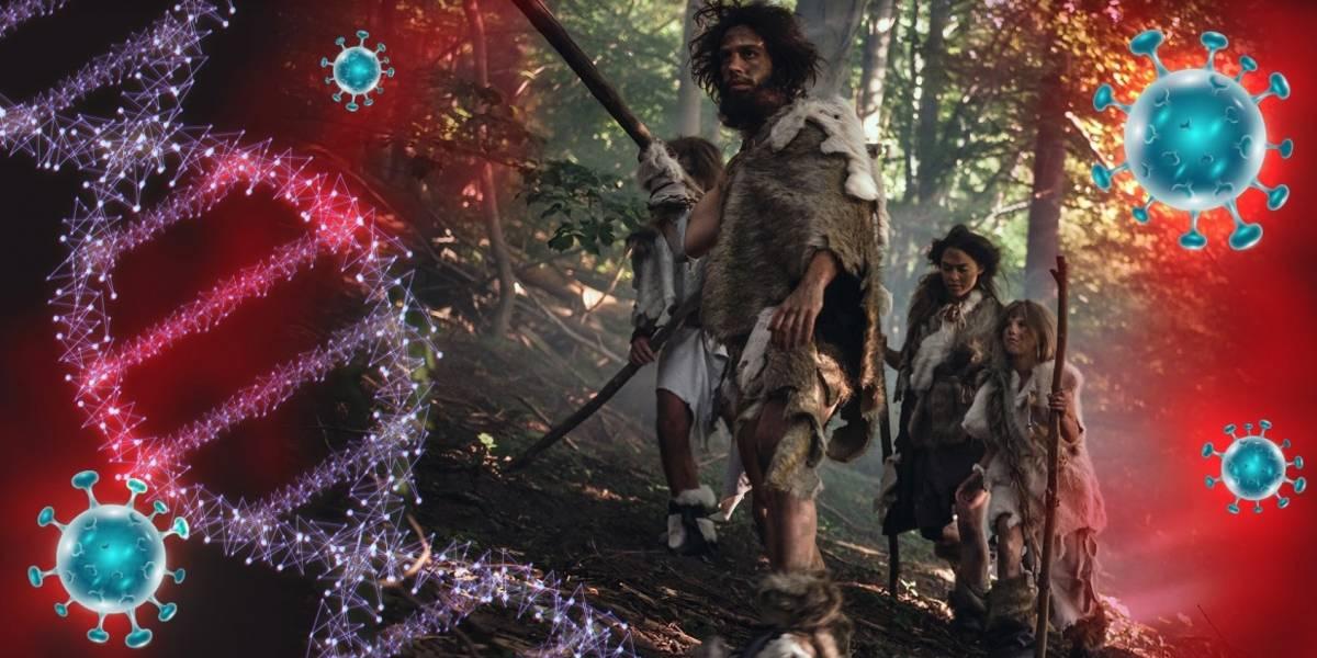 Genes heredados por Neandertales pueden agravar el COVID-19