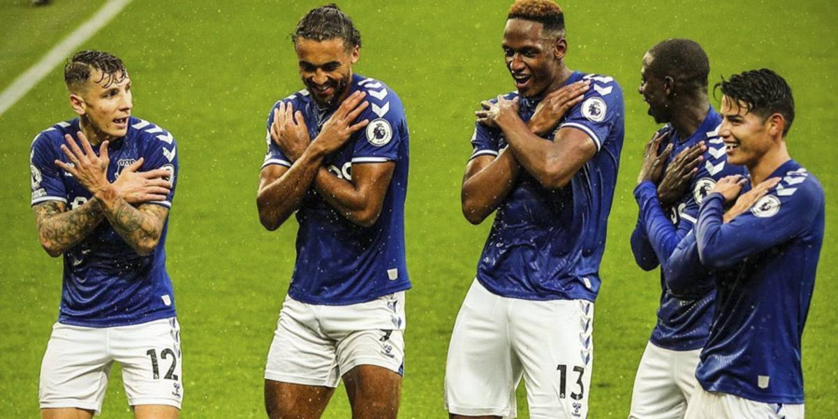 Con sabor latino, Everton domina la Premier League