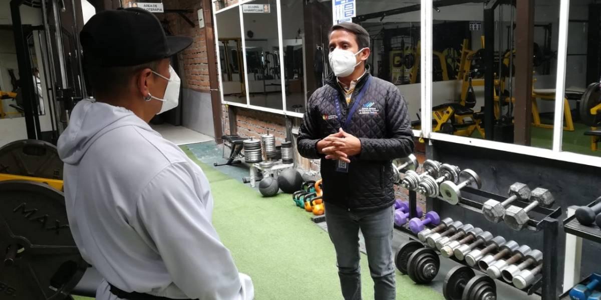 En Cuenca verifican que gimnasios cumplan con protocolos de bioseguridad