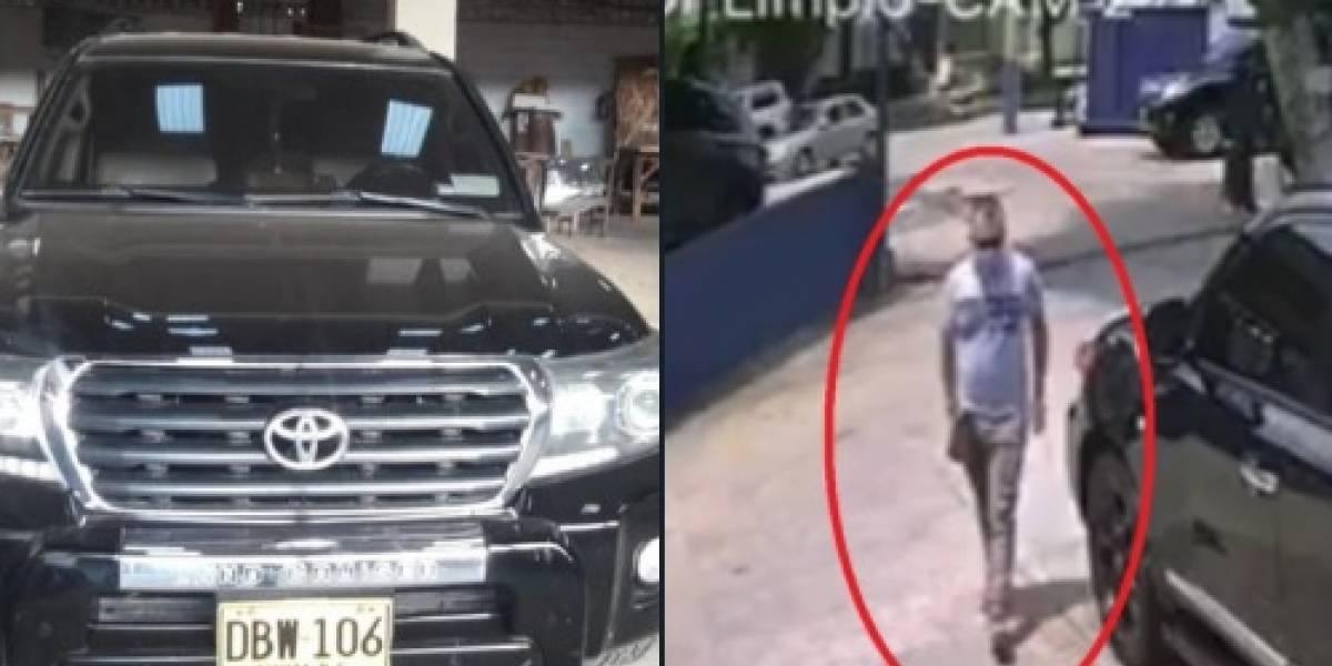 Ladrón canceló el lavado de una camioneta de alta gama y después se la robó