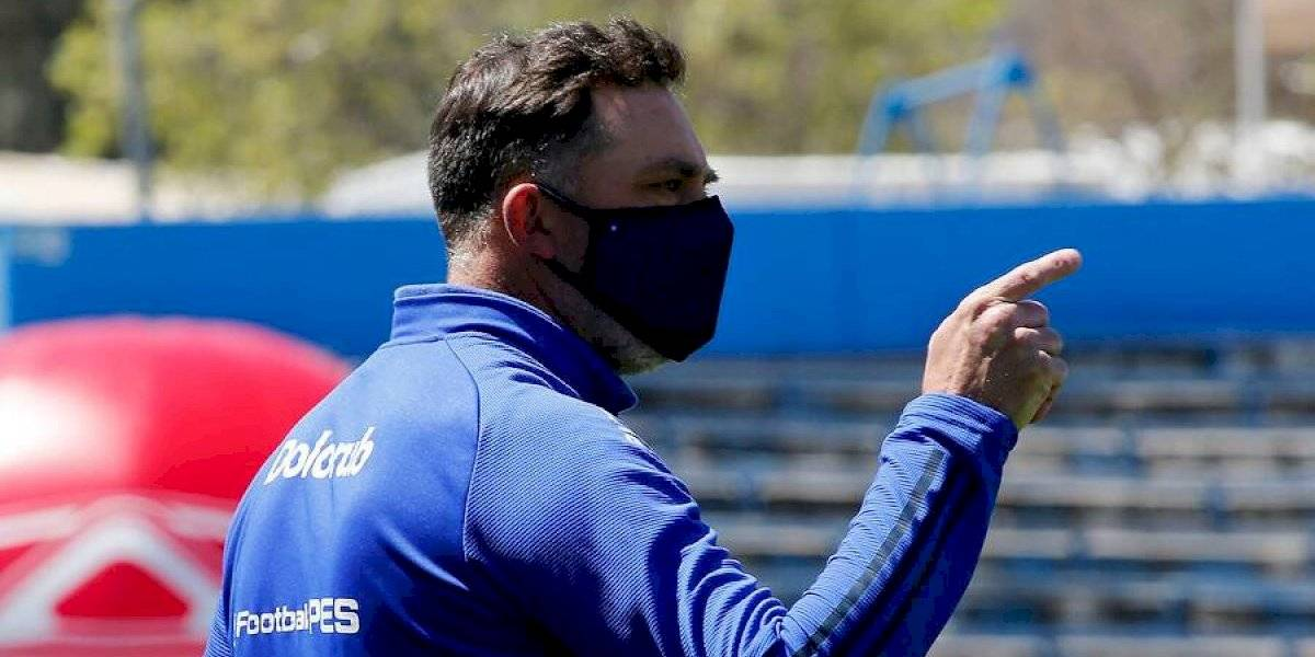 Azul Azul le entregó su total respaldo a Hernán Caputto pese a las últimas duras derrotas de la U