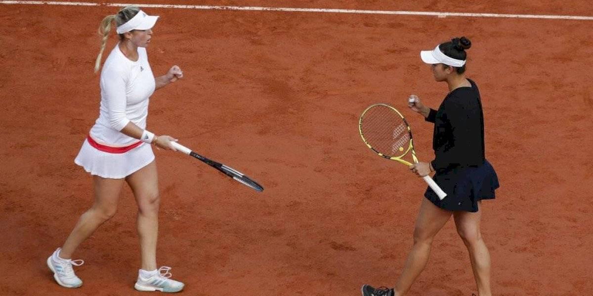 Alexa Guarachi logra histórico triunfo y avanza a semifinales en el dobles en Roland Garros