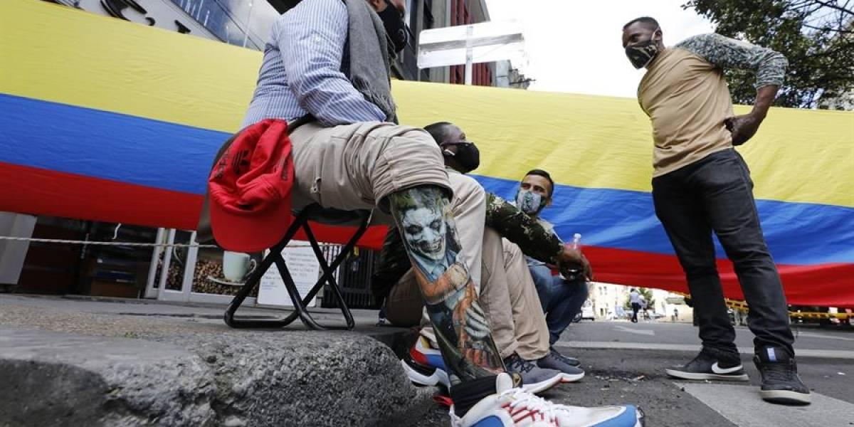 La protesta de militares en contra del Gobierno que nadie vio