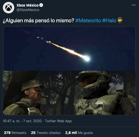 Meteorito memes México